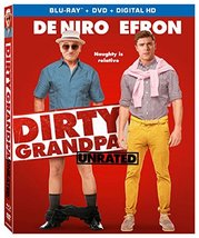 Dirty Grandpa (Unrated) [4K Ultra HD + Blu-ray + Digital HD] (2016)