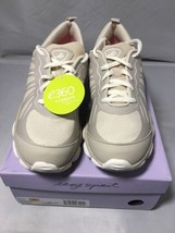 easy spirit e360 Raycharge LaceUp Sneaker Padded Insole Beige Size 7.5N ... - $53.13 CAD