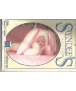 """Syndee's 1994 Sonny Puppy and Honey Bunny 16"""" Medium Pattern #22004 - Uncut - $12.00"""
