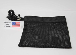 Made in USA Mesh Black Shower Caddy Gym Tote Di... - $24.74