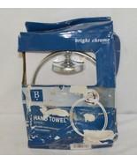 Baypointe 623985 Metal Hand Towel Ring Bright Chrome Finish - $17.63