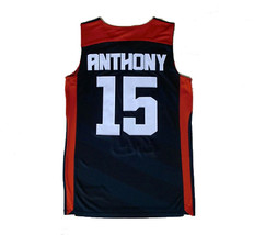 2010 London Carmelo Anthony #15 Team USA Basketball Jerseys Double Sewn ... - $35.00