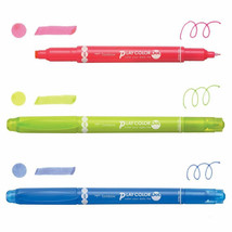 3-Color Set - PLAY COLOR Dot Double Sided Drawing Pens (GCE-311A), Tombow - $14.99