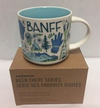 Starbucks Banff Coffee Mug Been There Canada National Park Bow River - $56.09