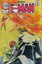 E-Man Comic Book #8, Charlton Comics 1975 Very FINE/NEAR Mint - $17.34
