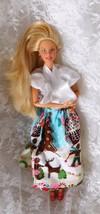 """1996 Mattel Barbie 11 1/2"""" doll Knees Bend Articulated Elbows Magnet Lef... - $8.59"""