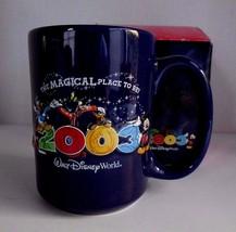 Walt Disney World 2003 ceramic coffee MUG w/Box NWB The Magical Place to Go - $9.75