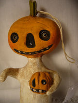 Bethany Lowe Halloween Little Pumpkin Head Ornament no. HH9220 image 3