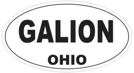 Galion Ohio Oval Bumper Sticker or Helmet Sticker D6097 - $1.39+