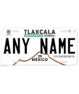 Tlaxcala Mexico Any Name Number Novelty Auto Car License Plate C03 - $14.80