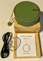 INSMY Portable C12 IP67 Waterproof Bluetooth Speaker, Wireless Outdoor  - $22.35 CAD