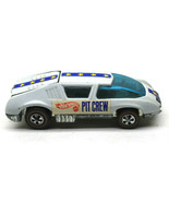 Vintage Hot Wheels Redline Pit Crew Car White Enamel Diecast Mattel Made... - $93.49