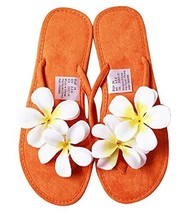 Fashion Summer Item, Sweet Handmade Flowers Flip Flop Beach Casual Sandals