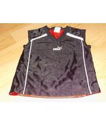 Youth Boys Size Large 7 PUMA Reversible Black Red Athletic Sleeveless Sh... - $12.00