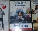 Lot 3 DVDS; I Hate Valentines Day,  about a boy, No Strings Attached