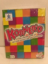 Korner'd Challenging Game Of Pattern Perception & Discovery Endless Autism Speak - $17.75