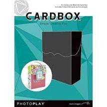 Cardbox Kit makes A2 Card Box. Includes 3 Blank Cards/ Envelopes Photoplay