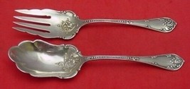 "Rustic by Towle Sterling Silver Salad Serving Set 9"" - $279.00"