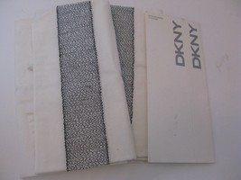DKNY Rope Embroidery Standard Pillowcases NEW - $34.87