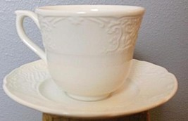 Vintage Johnson Bros Richmond White Cup and Saucer - $10.00