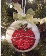 Jingle All The Way cross stitch chart Blackberry Lane Designs   - $10.80