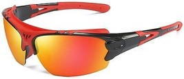 Aigemi Polarized Sports Sunglasses For Men Women Cycling Running Driving Golf - $37.34