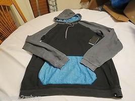 Hurley superior hoodie hoody shirt long sleeve Men's small NEW black MFT... - $52.46