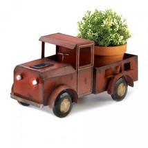 Red Truck Solar Light Planter - $43.95