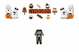 """Gymboree """"Halloween Shop"""" One-Piece Glow in the Dark PJ 12-18 /18-24 Months - $15.99"""