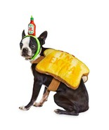 Bootique Dog Halloween Costume L Toast of the Town Flamin Dawg Hot Sauce... - $19.99