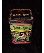 Barton's Bonnbonniere Almond Kisses Candy Tin Vintage the best kiss you ... - $30.00