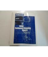 1998 Yamaha Fuoribordo Attrezzatura Specifiche Barca Manuale Factory OEM... - $21.33