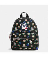 Coach Mini Charlie Backpack In Tea Rose Floral Rucksack Billie F 57636  NWT - $95.54