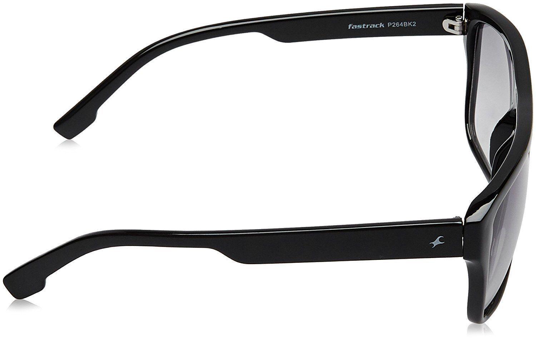 Fastrack Rectangular Sunglasses Black (P264BK2)
