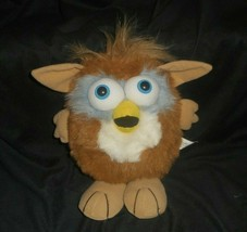 "9"" VINTAGE PEEK A BOO TOYS BROWN & WHITE BABY OWL STUFFED ANIMAL PLUSH T... - $18.49"