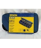 Irwin 17 Piece Bi-Metal Hole Saw Kit with carrying case 3073004 - $78.16
