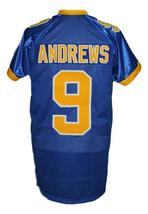 Archie Andrews #9 Riverdale High School Men Football Jersey Blue Any Size image 2
