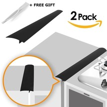 Linda's Silicone Kitchen Stove Counter Gap Cover Long & Wide Gap Filler ... - $17.62