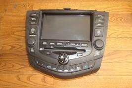 2005 HONDA ACCORD OEM Navigation GPS LCD Screen Climate Radio 6disc Chan... - $369.99