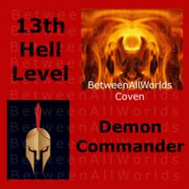 spr Elite Demon Commander From Hell + His Dark Demon Army & Wealth Spell   - $159.00