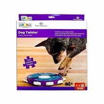 Dog Twister Interactive Toy Treat Dispenser Game Nina Ottosson Sweden Le... - $24.20