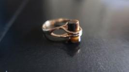Vintage Raised Tigers Eye 14k HGE Ring Size 8 - $19.00