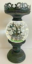Bath & Body Works 2021 Halloween Water Globe Light Up 3 Wick Candle Holder - $197.99