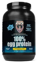 Healthy 'N Fit 100% EGG PROTEIN- Banana 2lb: 100% Egg White Protein PLUS... - $60.89