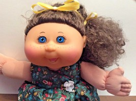 2011 Cabbage Patch Kid brown curly hair and freckles - $18.70