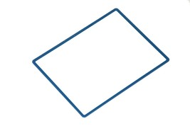 Nintendo DSi XL Top Screen Frame Lens Cover Replacement Blue NDSiXL Parts - $5.99