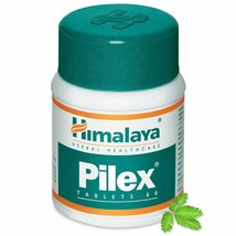 1x Himalaya Herbal Pilex 60 Tablets For Microbial Infection Anal Fissures - $5.79