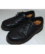 Propet Zapatos Negros de Piel 11w 11W Hombre Cómodo Cordones Corbata - $33.24