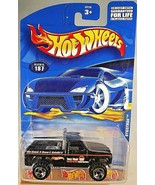 2001 Hot Wheels Collector No #187 BYWAYMAN Black w/Chrome RZR Spoke Wheels - $7.50