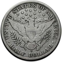 1909O Silver Barber Half Dollar 50¢ Coin Lot# A 378 image 2